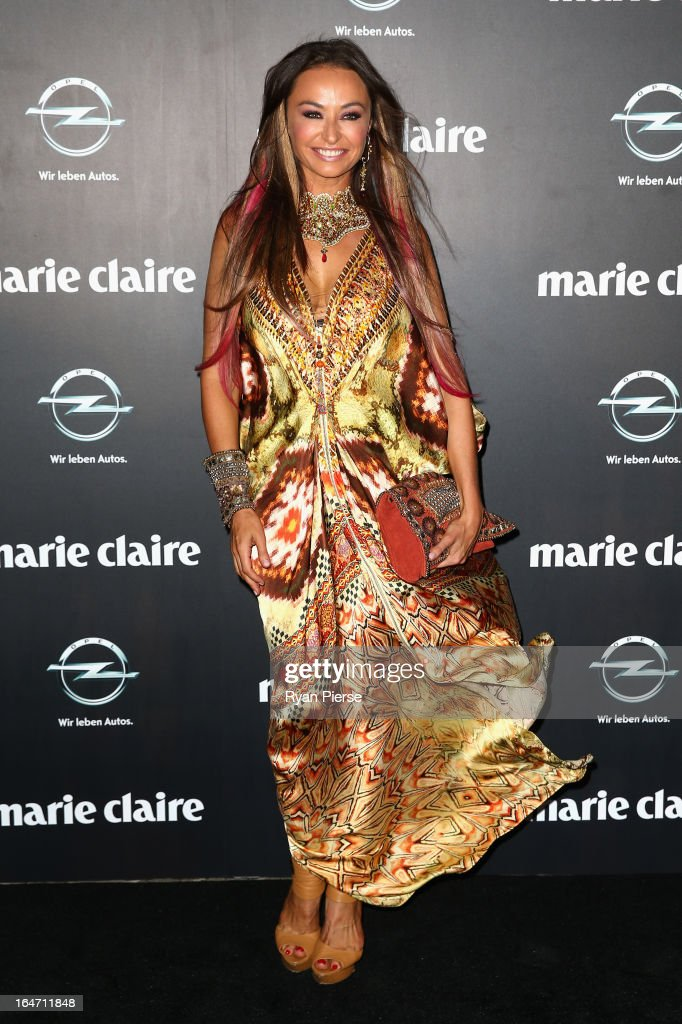Camilla Franks arrives at the 2013 Prix de Marie Claire Awards at the Star on March 27, 2013 in Sydney, Australia.