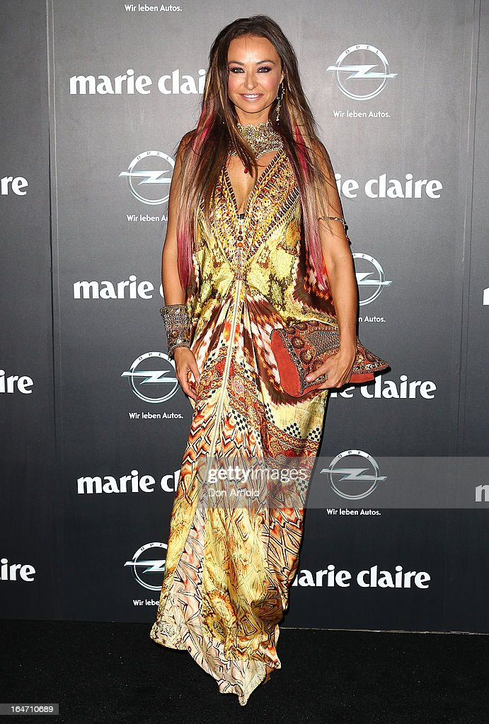 Camilla Franks at the 2013 Prix de Marie Claire Awards at the Star on March 27, 2013 in Sydney, Australia.