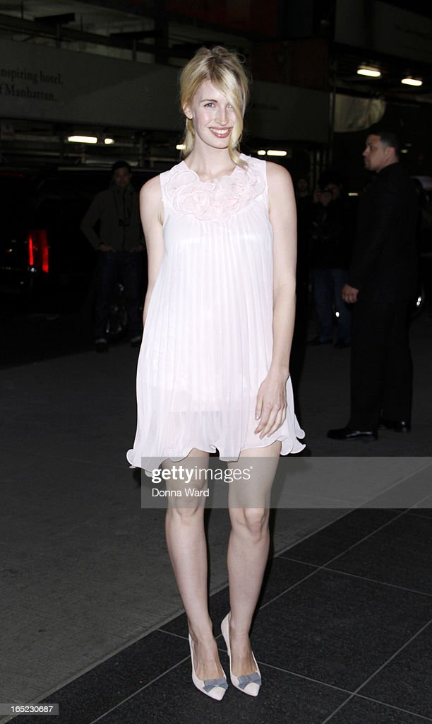 Camilla Hansen attends 'The Company You Keep' New York Premiere at The Museum of Modern Art on April 1, 2013 in New York City.