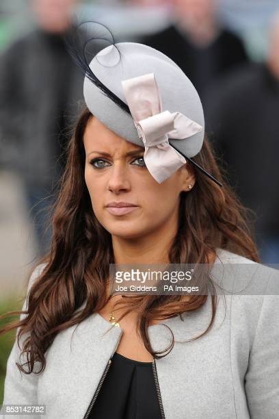 Camilla Henderson daughter of trainer Nicky Henderson arrives for Champion Day at Cheltenham Racecourse Cheltenham