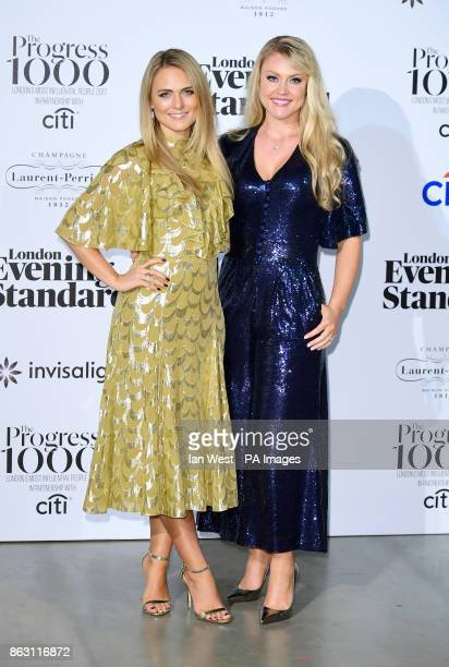 Camilla Kerslake and Francesca Dutton at the London Evening Standard's annual Progress 1000 in partnership with Citi and sponsored by Invisalign UK...