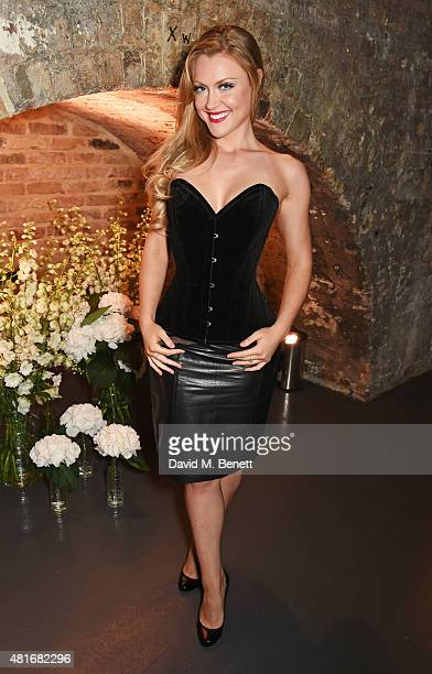 Camilla Kerslake attends the Amazon Fashion Photography Studio launch party which opened on July 23 2015 in London England Guest of honour was Suki...