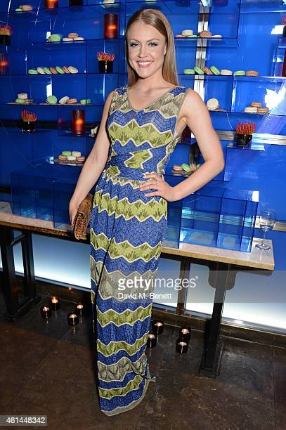 Camilla Kerslake attends the GQ London Collections Men AW15 closing dinner at Hakkasan Hanway Place on January 12 2015 in London England
