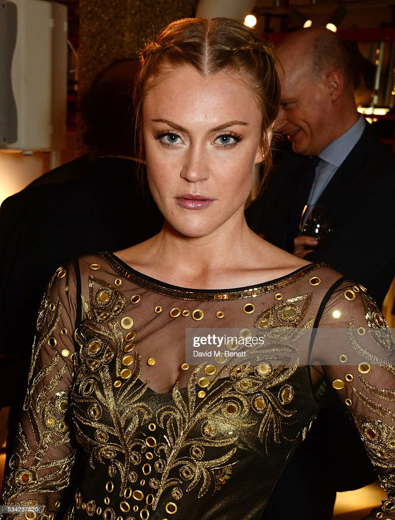 <a gi-track='captionPersonalityLinkClicked' href=/galleries/search?phrase=Camilla+Kerslake&family=editorial&specificpeople=6350983 ng-click='$event.stopPropagation()'>Camilla Kerslake</a> attends the London Evening Standard Londoner's Diary 100th Birthday Party in partnership with Harvey Nichols at Harvey Nichols on May 25, 2016 in London, England.