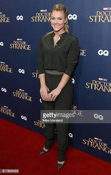 Camilla Kerslake attends the red carpet launch event for 'Doctor Strange' on October 24 2016 in London United Kingdom