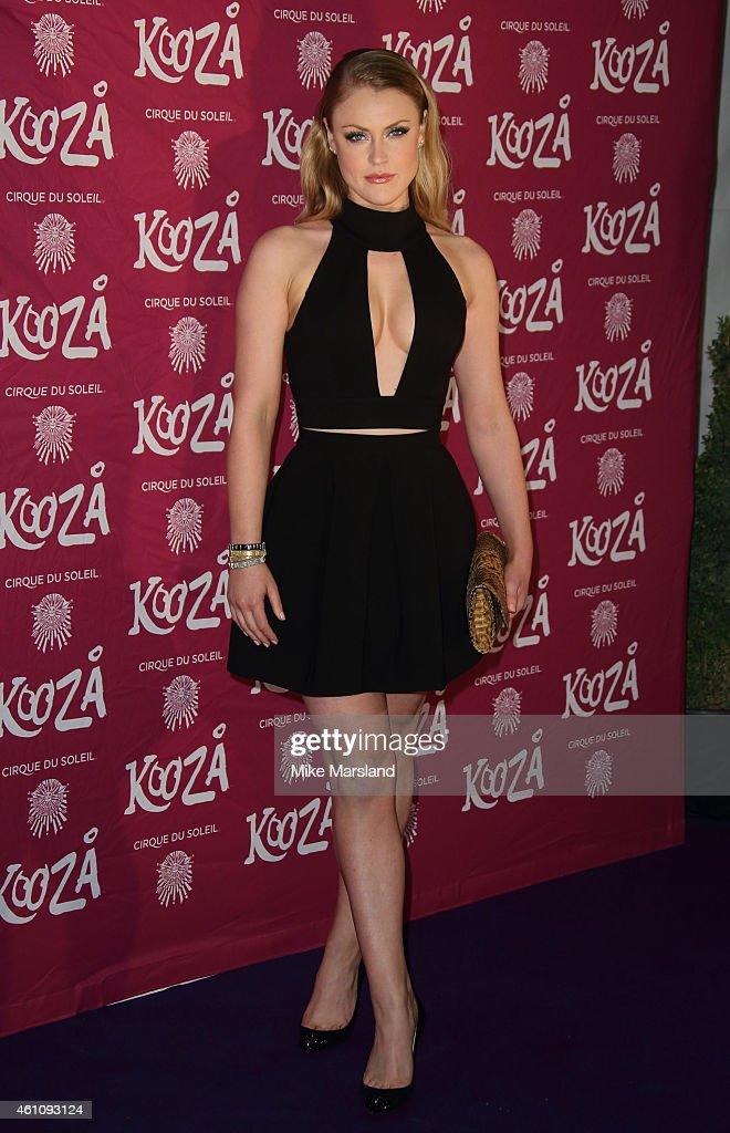 """Kooza"" By Cirque Du Soleil - VIP Performance - Red Carpet Arrivals"