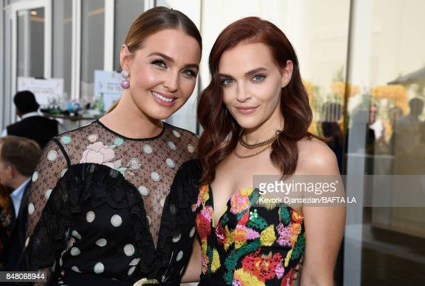 Camilla Luddington and Madeline Brewer attend the BBC America BAFTA Los Angeles TV Tea Party 2017 at The Beverly Hilton Hotel on September 16 2017 in...