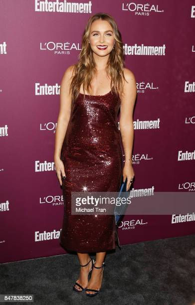 Camilla Luddington arrives at Entertainment Weekly's 2017 PreEmmy Party held at Sunset Tower Hotel on September 15 2017 in West Hollywood California