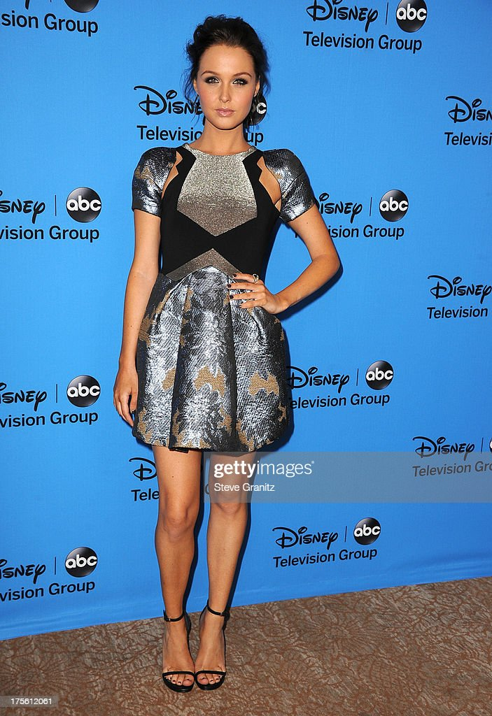 Camilla Luddington arrives at the 2013 Television Critics Association's Summer Press Tour - Disney/ABC Party at The Beverly Hilton Hotel on August 4, 2013 in Beverly Hills, California.