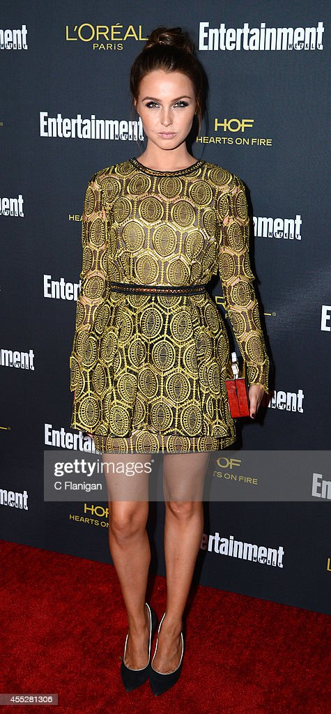Camilla Luddington attends the 2014 Entertainment Weekly Pre-Emmy Party at Fig & Olive Melrose Place on August 23, 2014 in West Hollywood, California.