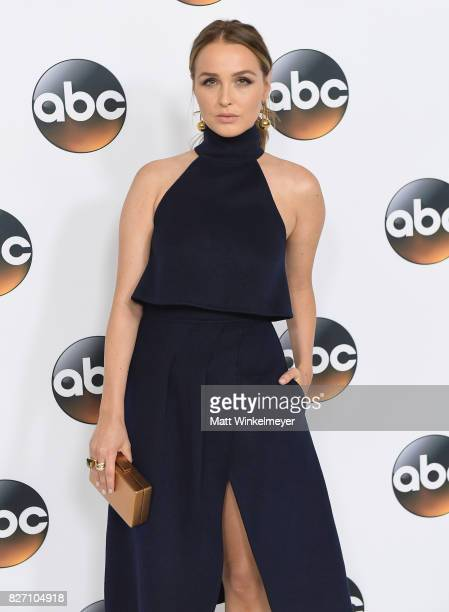 Camilla Luddington attends the 2017 Summer TCA Tour Disney ABC Television Group at The Beverly Hilton Hotel on August 6 2017 in Beverly Hills...