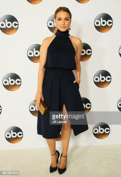 Camilla Luddington attends the 2017 Summer TCA Tour 'Disney ABC Television Group' on August 06 2017 in Los Angeles California