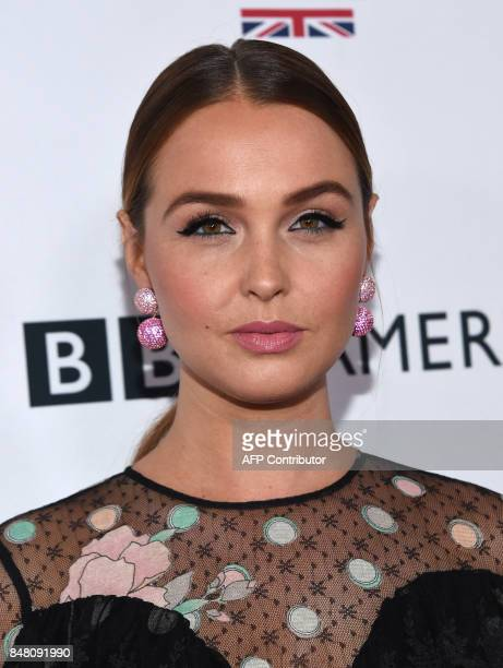 Camilla Luddington attends the BAFTA Los Angeles TV Tea Party party at the Beverly Hilton hotel in Beverly Hills on September 16 2017 / AFP PHOTO /...