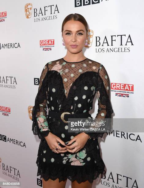 Camilla Luddington attends the BBC America BAFTA Los Angeles TV Tea Party 2017 at The Beverly Hilton Hotel on September 16 2017 in Beverly Hills...