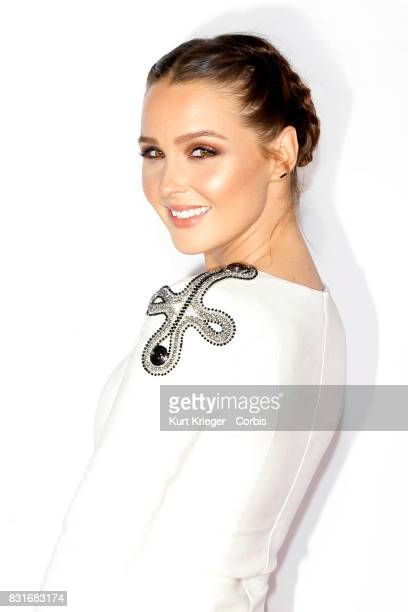 Image has been digitally retouched Camilla Luddington attends the People´s Choice Awards 2016 in Los Angeles California on January 6 2016