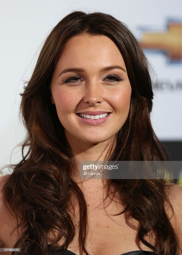 Camilla Luddington attends the Spike TV's 10th Annual Video Game Awards at Sony Studios on December 7, 2012 in Los Angeles, California.