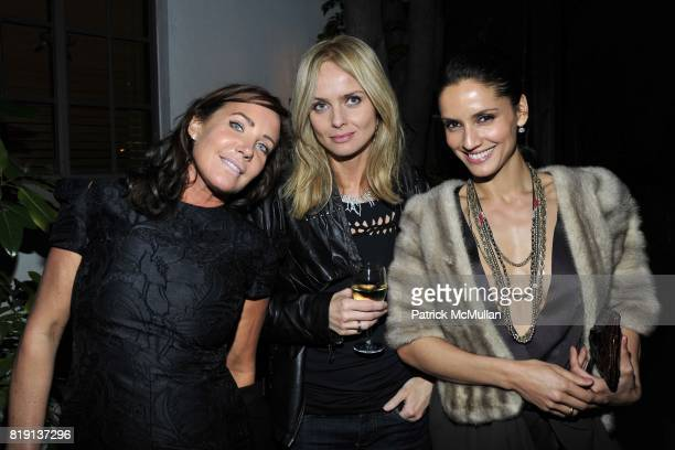 Camilla Olsson Izabella Scorupco Leonor Varela attend NICOLAS BERGGRUEN's 2010 Annual Party at the Chateau Marmont on March 3 2010 in West Hollywood...
