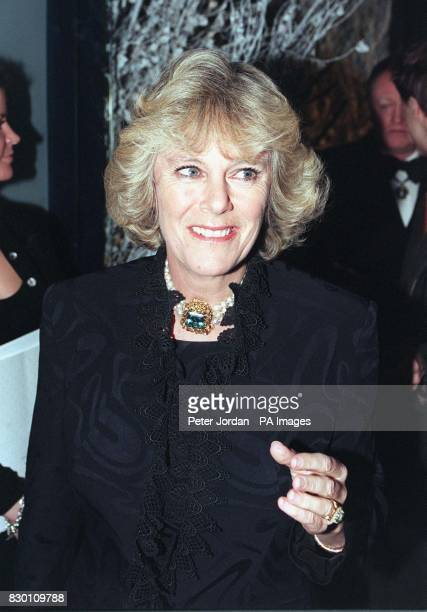 Camilla Parker Bowles attends tonight's celebrity launch party for the opening of the first London store by leading Geneva jewellers de Grisogono...