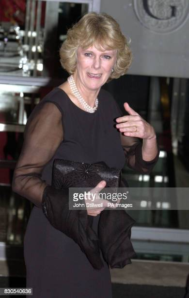 Camilla Parker Bowles long time friend of the Prince of Wales arrives for the tenth anniversary of the Press Complaints Commission at Somerset House...