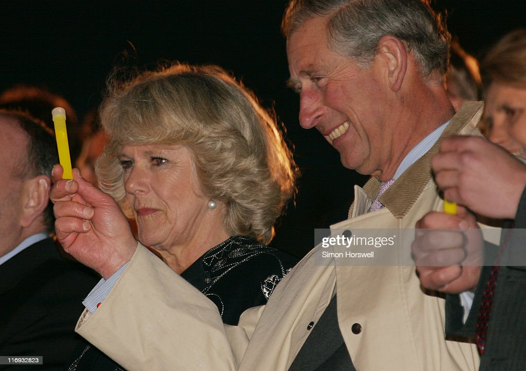 Camilla Parker-Bowles and Prince Charles during Prince's Trust 30th Live - Show at Tower of London in London, Great Britain.