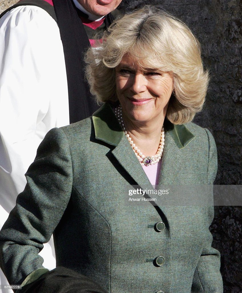 Prince Charles And Camilla Parker Bowles Attend Sunday