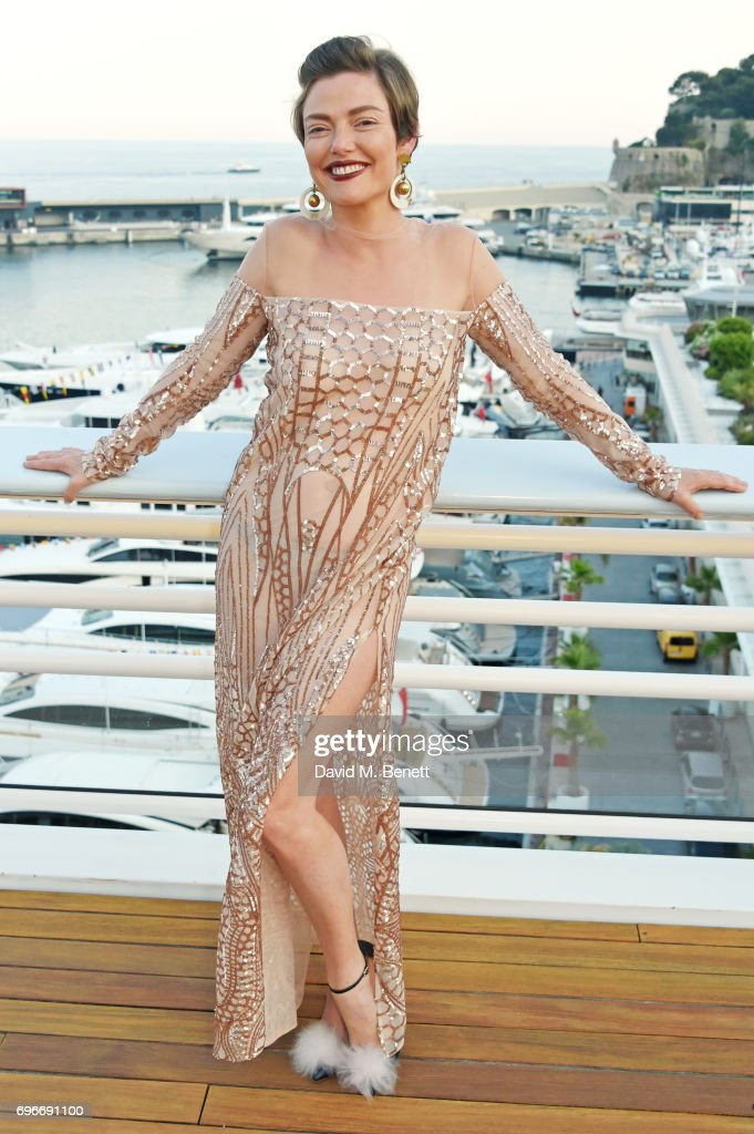 Camilla Rutherford attends a charity gala evening and performance of the play 'A Life-Long Pas' in honour of Rudolf Nureyev and Dame Margot Fonteyn, held by Club Eclectique & It's founders Anna Nasbina & Yulia Polvida, at The Yacht Club De Monaco on June 16, 2017 in Monaco, Monaco.