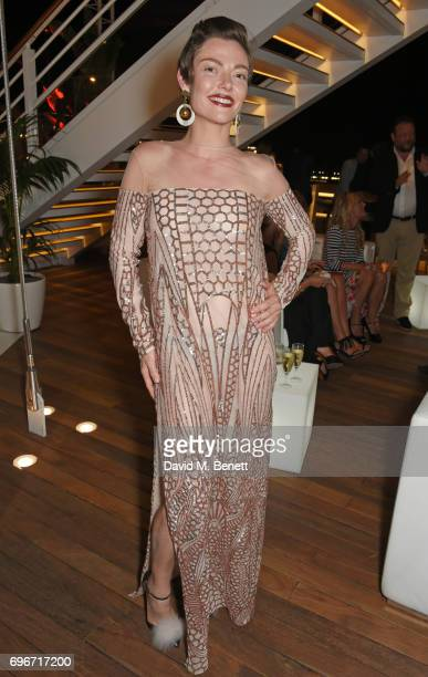 Camilla Rutherford attends a charity gala evening and performance of the play 'A LifeLong Pas' in honour of Rudolf Nureyev and Dame Margot Fonteyn...