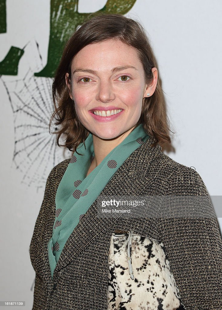 Camilla Rutherford attends a special screening of Stoker at Curzon Soho on February 17, 2013 in London, England.