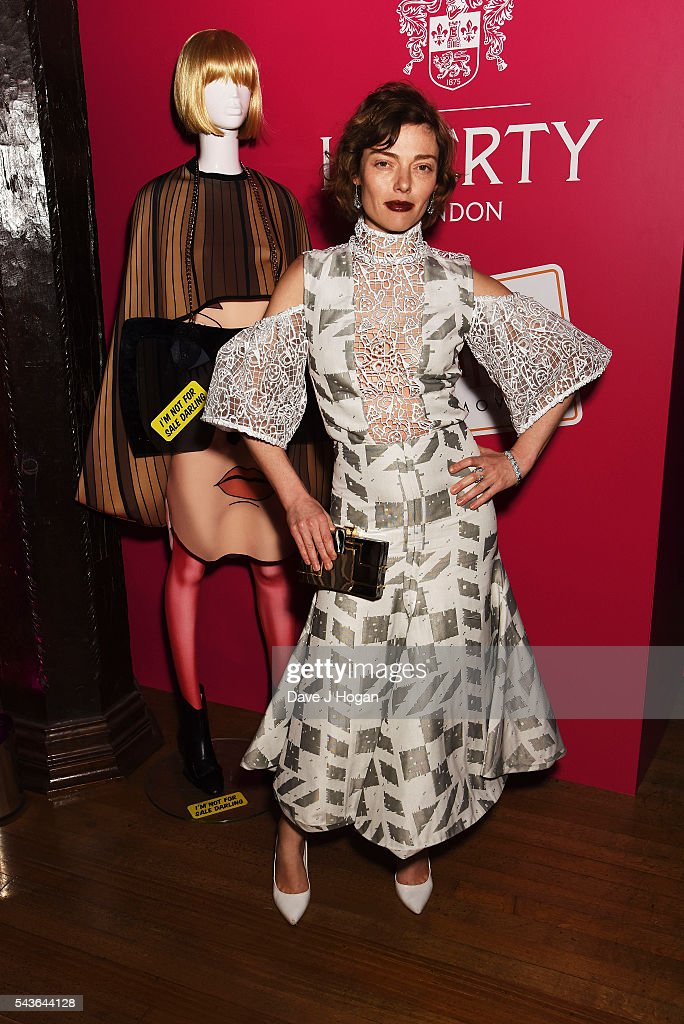 Camilla Rutherford attends the after party of the world premiere of 'Absolutely Fabulous: The Movie' at Liberty on June 29, 2016 in London, England.