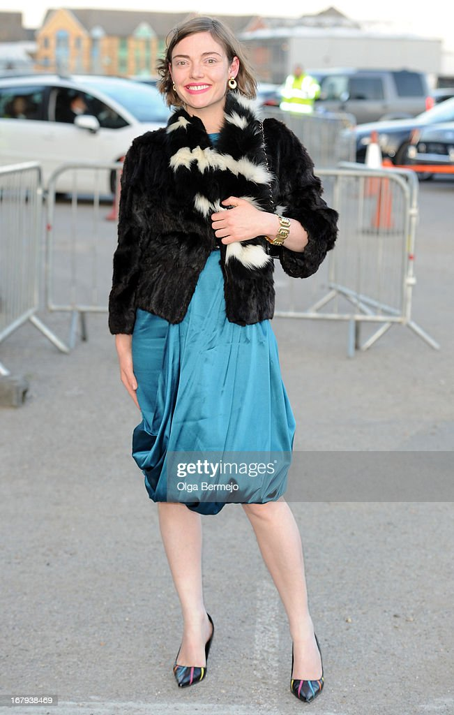 Camilla Rutherford attends the annual fundraiser in aid of Gabrielle's Angel Foundation for Cancer Research at Battersea Power station on May 2, 2013 in London, England.