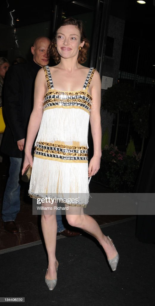 Camilla Rutherford attends the Julien MacDonald Autumn/Winter 2009/09 show at the Hilton Hotel on February 15 2008 in London England