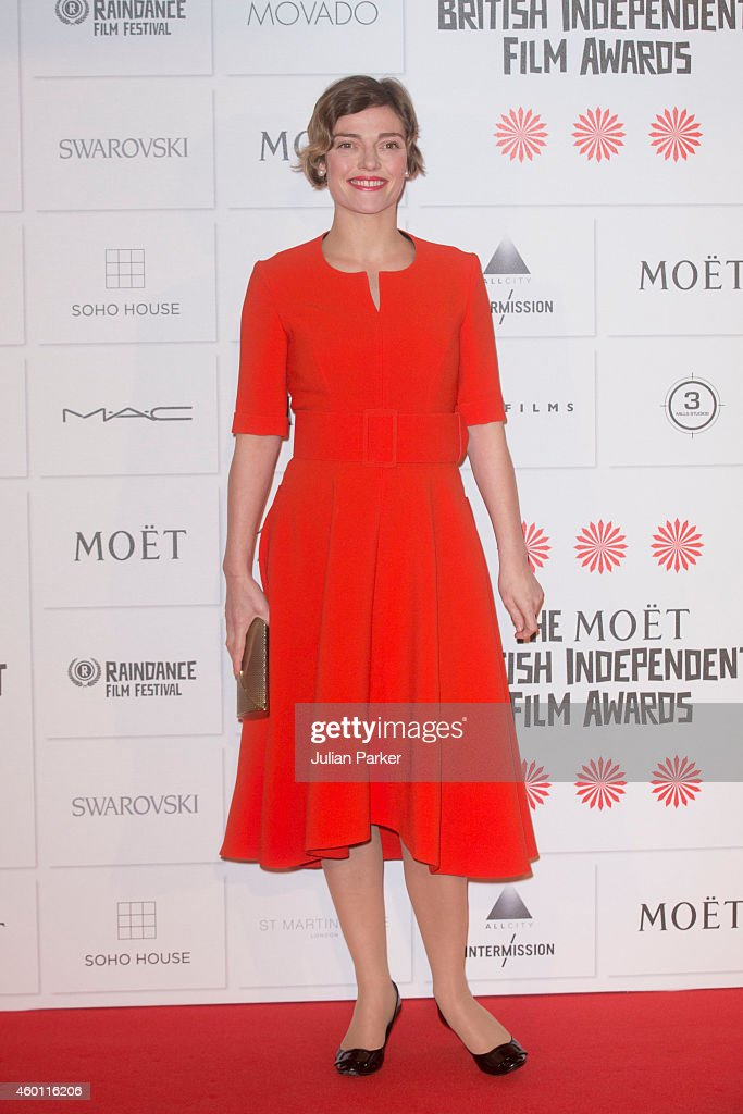 Camilla Rutherford attends the Moet British Independent Film Awards at Old Billingsgate Market on December 7 2014 in London England