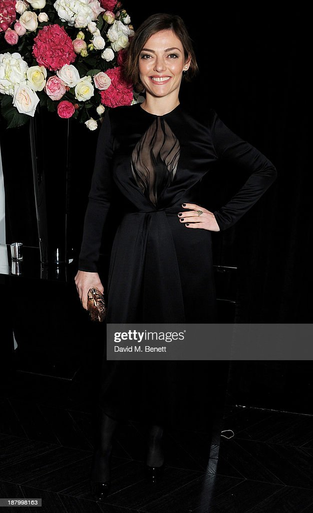 Camilla Rutherford attends the opening of the Dior Beauty Boutique in Covent Garden on November 14, 2013 in London, England.