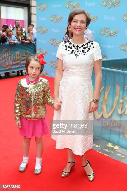 Camilla Rutherford attends the press night performance of 'The Wind In The Willows' at the London Palladium on June 29 2017 in London England