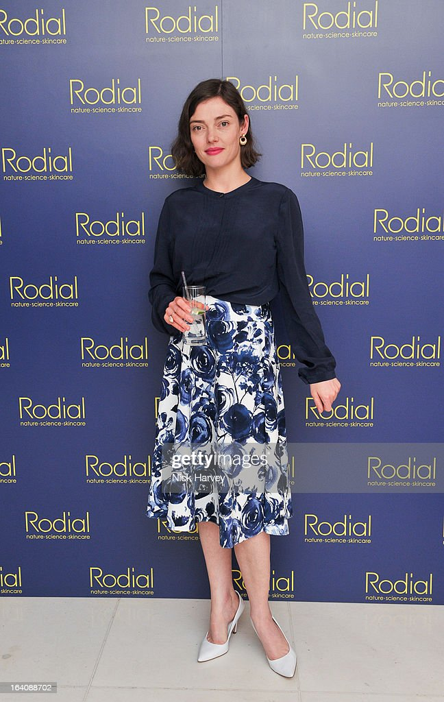 Camilla Rutherford attends the Rodial Beautiful Awards at St Martin's Lane Hotel on March 19, 2013 in London, England.