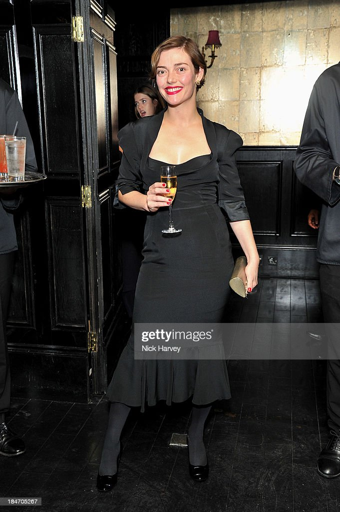 <a gi-track='captionPersonalityLinkClicked' href=/galleries/search?phrase=Camilla+Rutherford&family=editorial&specificpeople=212747 ng-click='$event.stopPropagation()'>Camilla Rutherford</a> attends the Roger Vivier Virgule party at Le Baron on October 15, 2013 in London, England.