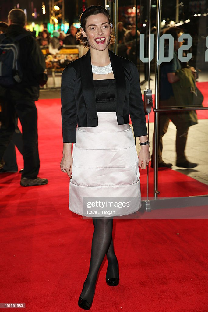 <a gi-track='captionPersonalityLinkClicked' href=/galleries/search?phrase=Camilla+Rutherford&family=editorial&specificpeople=212747 ng-click='$event.stopPropagation()'>Camilla Rutherford</a> attends the UK premiere of 'The Wolf Of Wall Street' at The Odeon Leicester Square on January 9, 2014 in London, England.