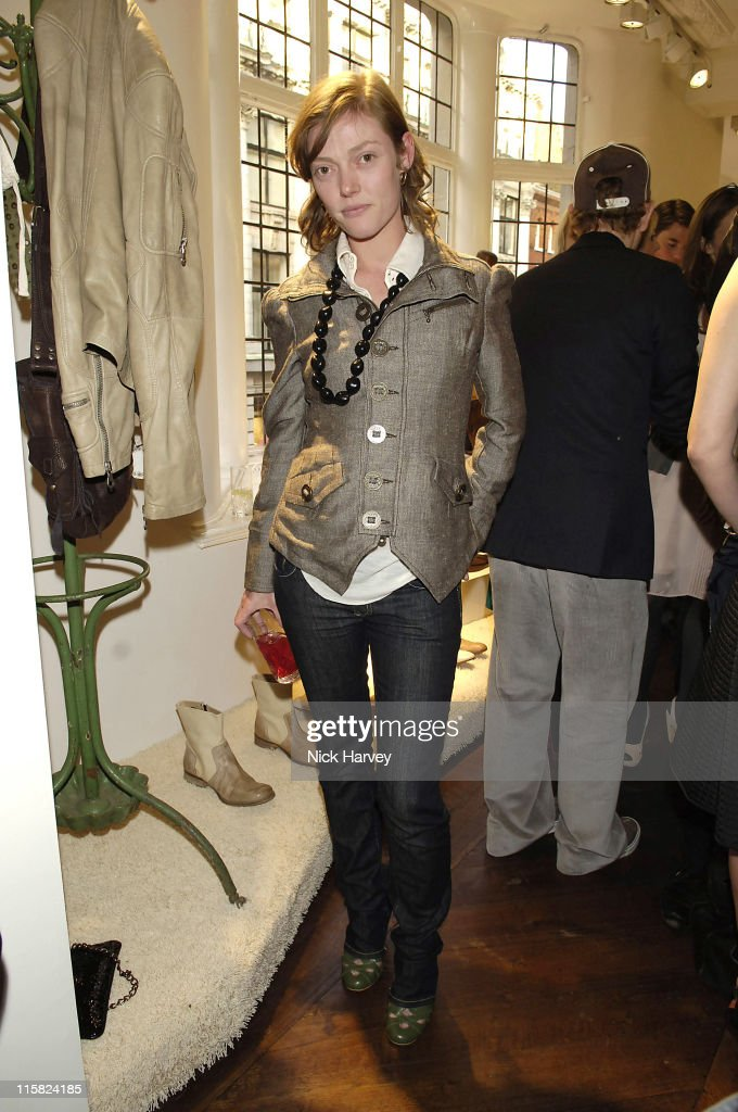 Camilla Rutherford during Diesel Store Launch Party – Inside at Diesel Bond Street in London Great Britain