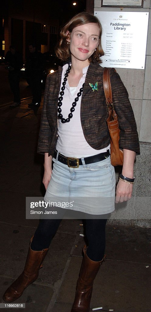 Camilla Rutherford during MYLA Debutantes Coming Out Show Outside Arrivals at Porchester Hall in London Great Britain