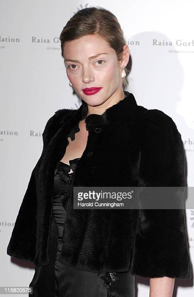 Camilla Rutherford during Raisa Gorbachev Foundation Party – Red Carpet at Stud House Hampton Court Palace in Richmond upon Thames Great Britain