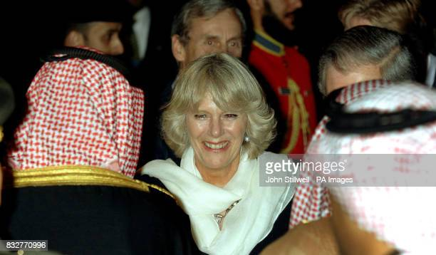 Camilla the Duchess of Cornwall arrives at Kuwait International Airport