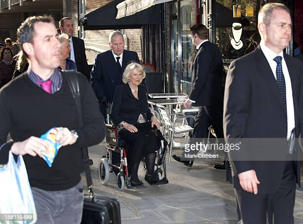 Camilla The Duchess Of Cornwall Visits The Polish Social And Cultural Association To Sign The Book Of Condolence In Hammersmith London