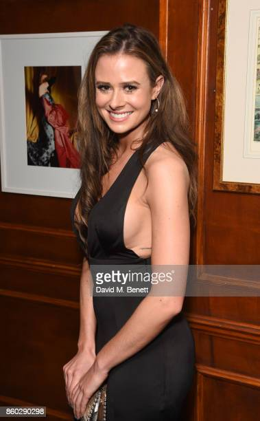 Camilla Thurlow attends the The BARDOU Foundation's International Day Of The Girl Gala in support of The Princes Trust at Albert's Club on October 11...