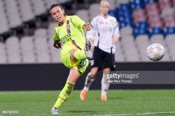 Camille ABILY Lyon / Neulengbach Coupe de l UEFA Coupe d Europe 2008/2009 Stade Gerland