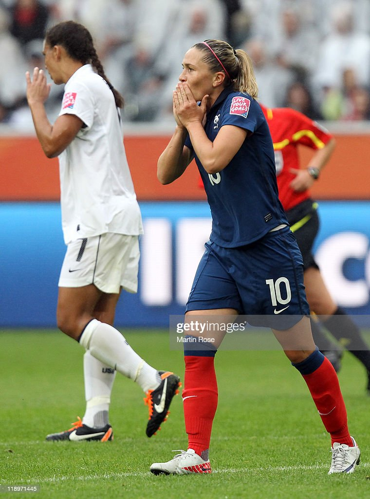 France v USA: FIFA Women's World Cup 2011 - Semi Final