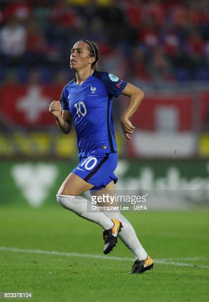 Camille Abily of France in action during the UEFA Women's Euro 2017 Group C match between Switzerland and France at Rat Verlegh Stadion on July 26...
