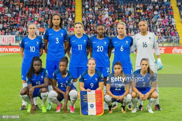 Camille Abily of France women Wendie Renard of France women Claire Lavogez of France women Kadidiatou Diani of France women Amandine Henry of France...