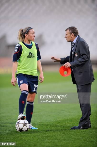 Camille ABILY Patrice LAIR Lyon / Zvezda 2005 Perm 1/4 Finale Retour de la Ligue des Champions 2010/2011 Lyon
