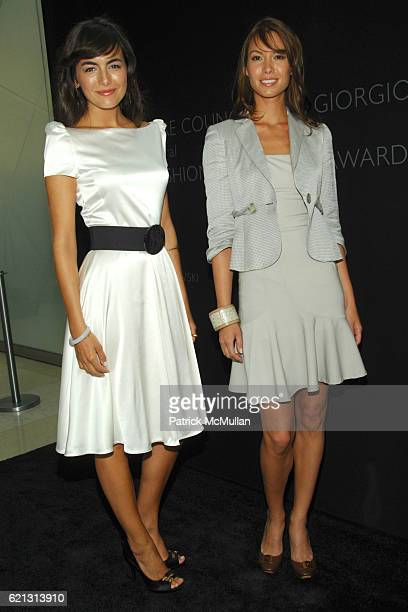 Camille Bell and Sarah Larson attend Fashion Institute of Technology Presents the First Couture Council Award for Global Fashion Leadership to...