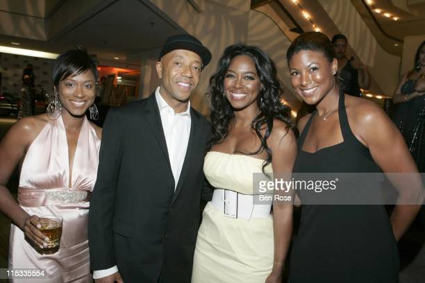 Camille Binder Russell Simmons Kenya Moore and Che Moore